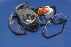 Tipos de gafas de seguridad